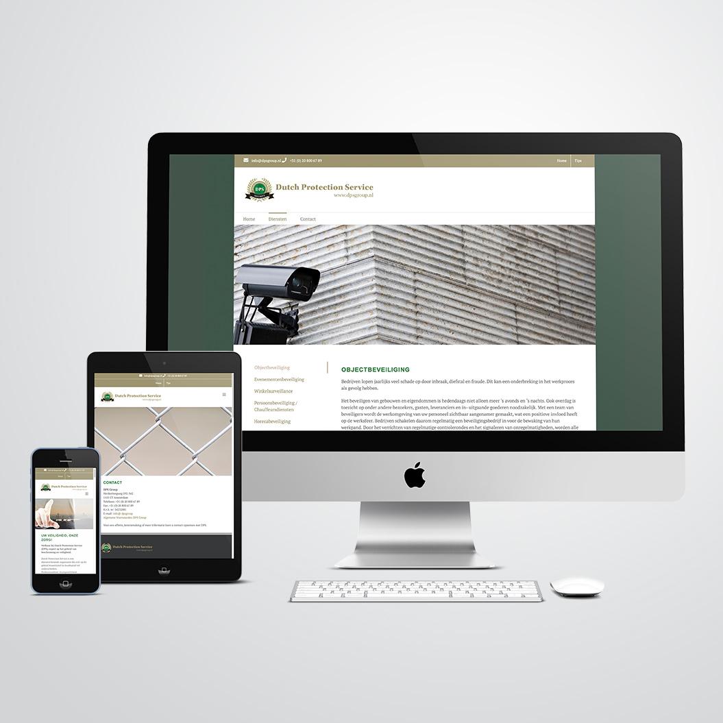 Wordpress website gemaakt voor DPS Group