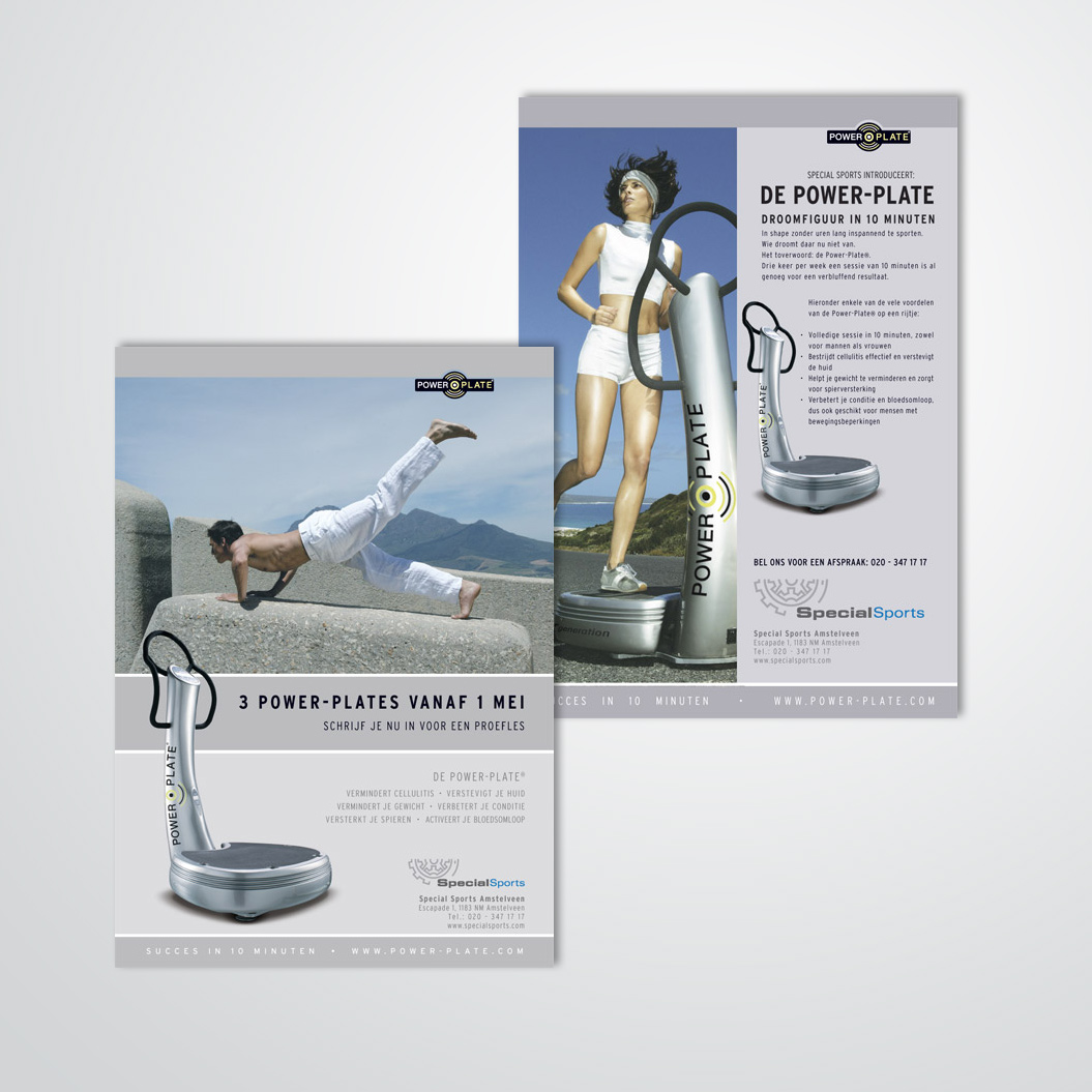 advertenties Powerplate