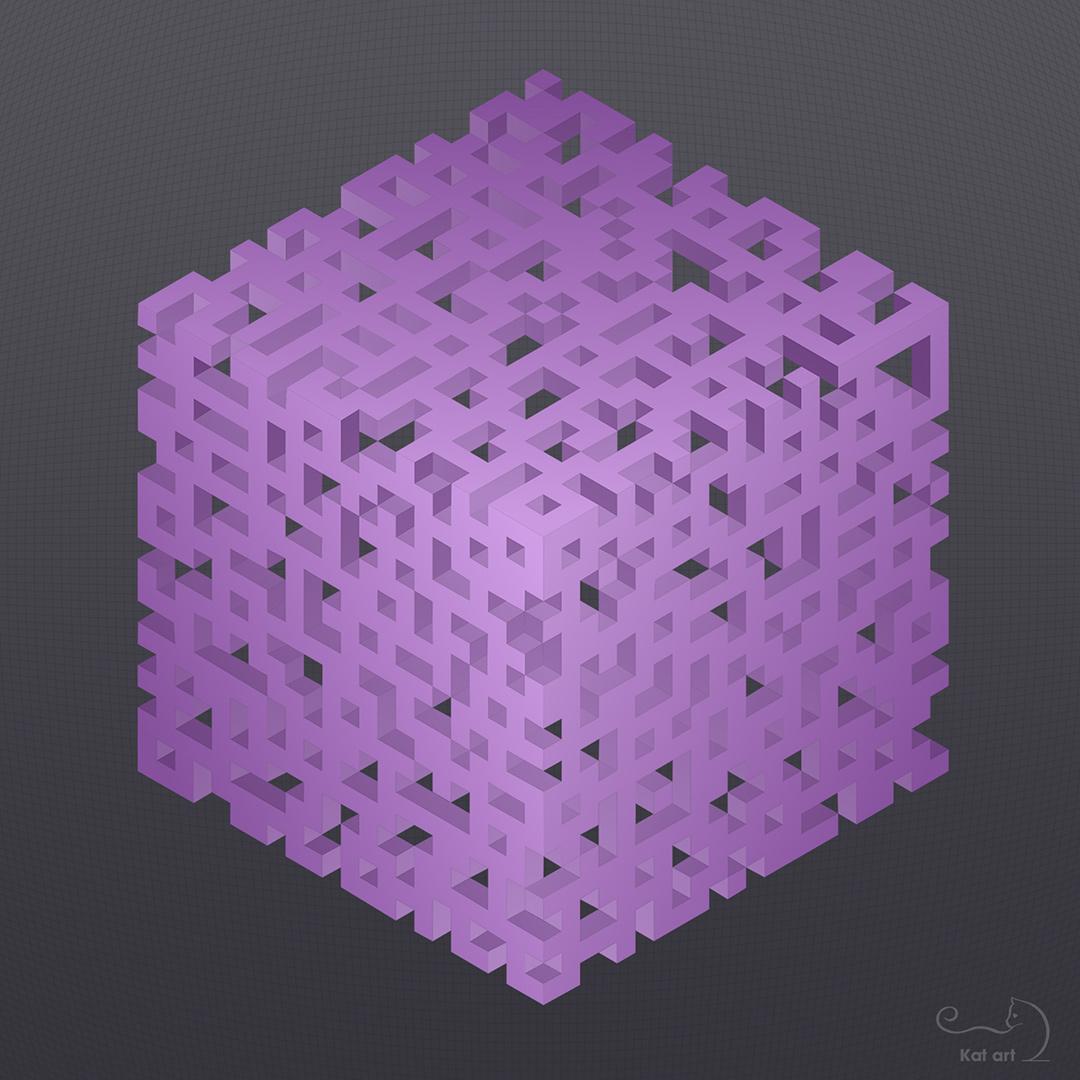 geometric-art gemaakt door Kat-Art
