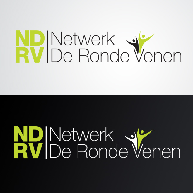 logo gemaakt door Kat Design voor netwerk de ronde venen