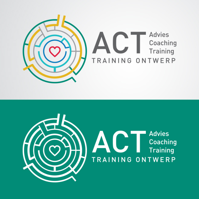 logo redesign door Kat Design voor ACT Trainingontwerp