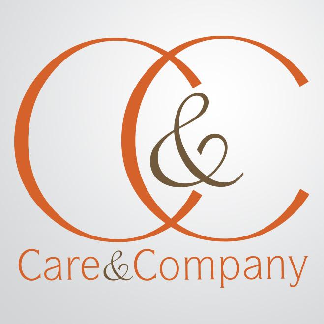 logo gemaakt door Kat Design voor Care & Company