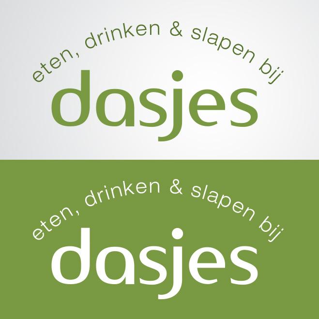 logo gemaakt door Kat Design voor restaurant en bed en breakfast Dasjes