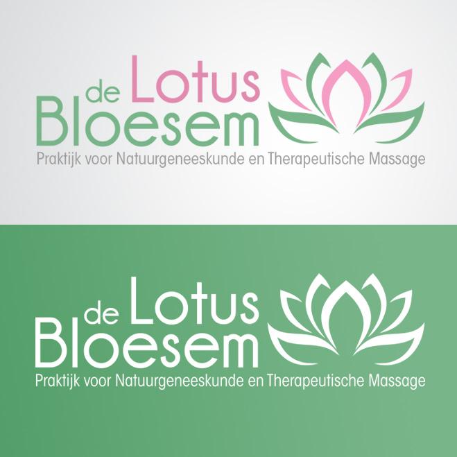 visitekaartjes door Kat Design voor de lotus bloesem