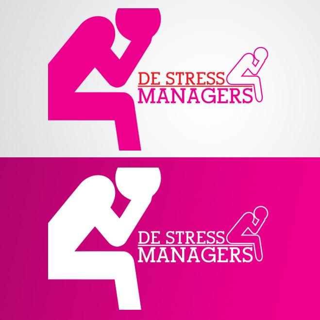 logo voor 'De-stressmanagers' van coach Nicolette van Bokhorst