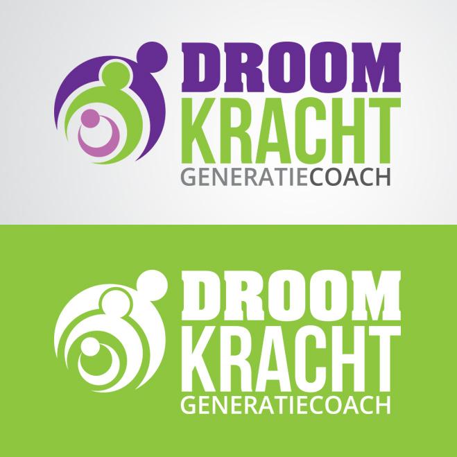 logo gemaakt door Kat Design voor droomkracht