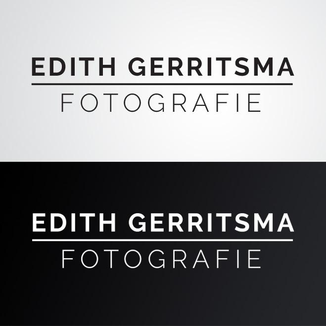 logo gemaakt door Kat Design voor Edith Gerritsma