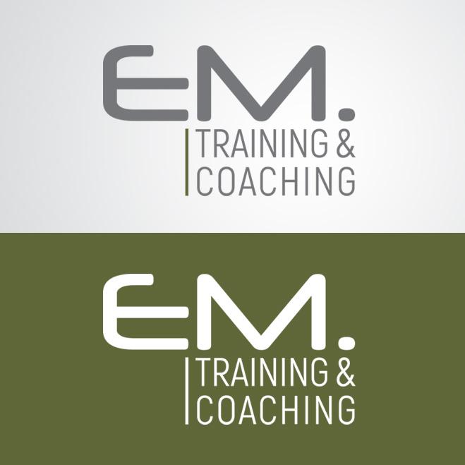 logo gemaakt voor EM Training & Coaching