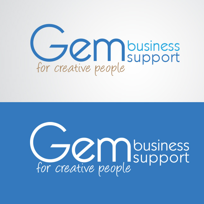 logo gemaakt door Kat Design voor Gem business support