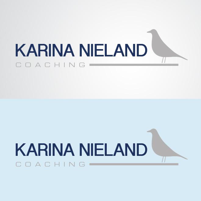 logo gemaakt door Kat Design voor coach Karina Nieland