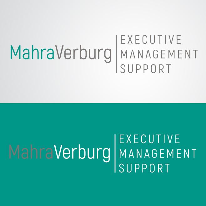 logo gemaakt door KatDesign voor Mahra Verburg
