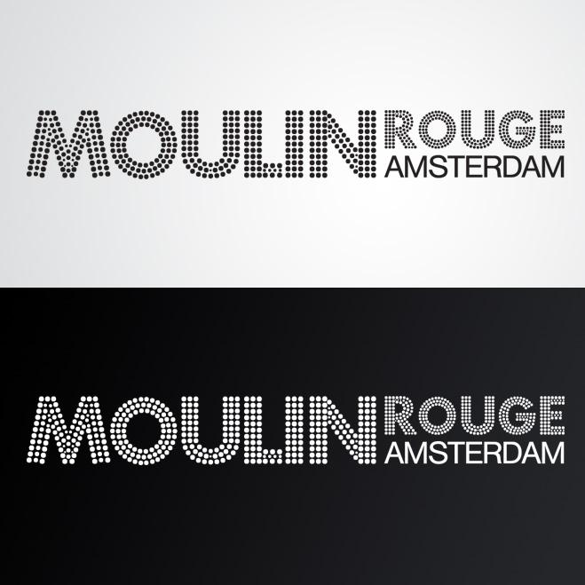 logo gemaakt door Kat Design voor Moulin Rouge Amsterdam