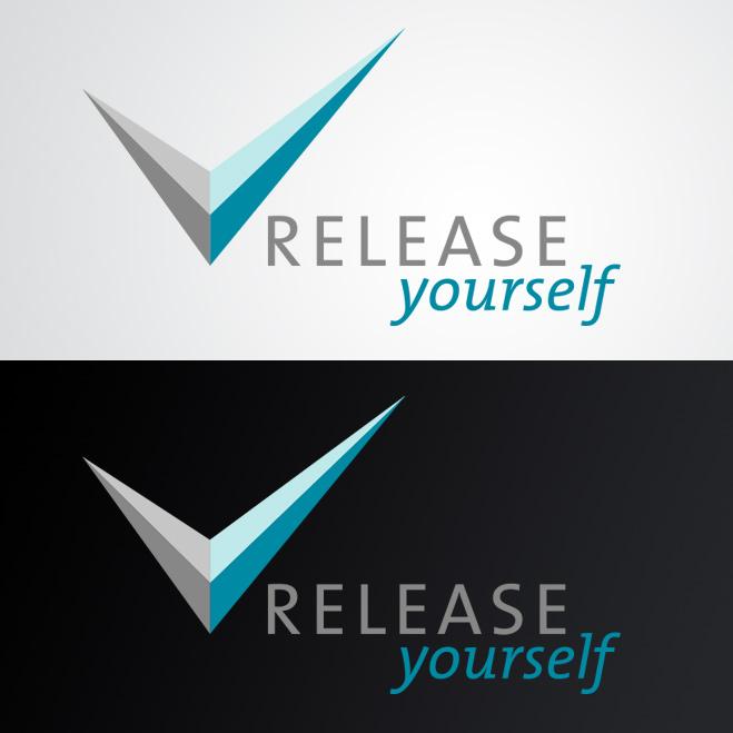 logo gemaakt door Kat Design voor Release Yourself
