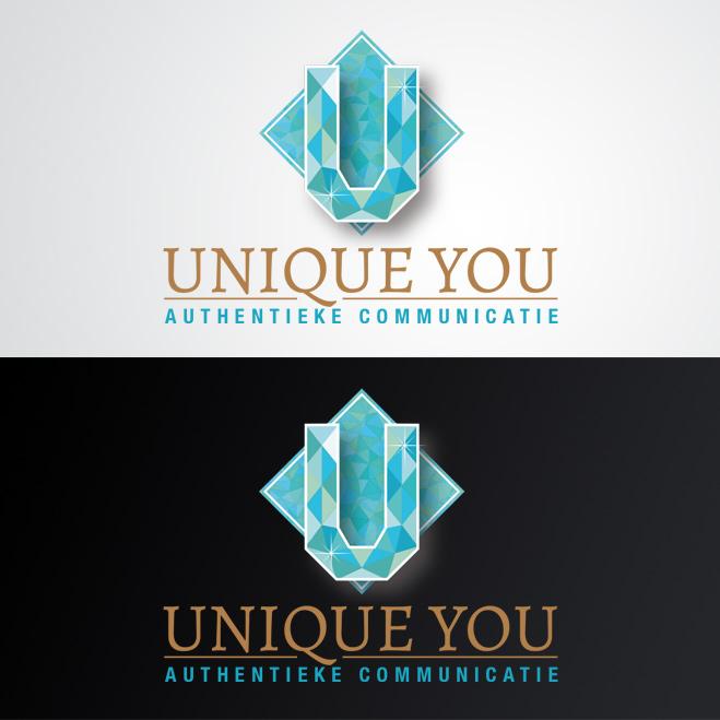 logo gemaakt door Kat Design voor Unique You