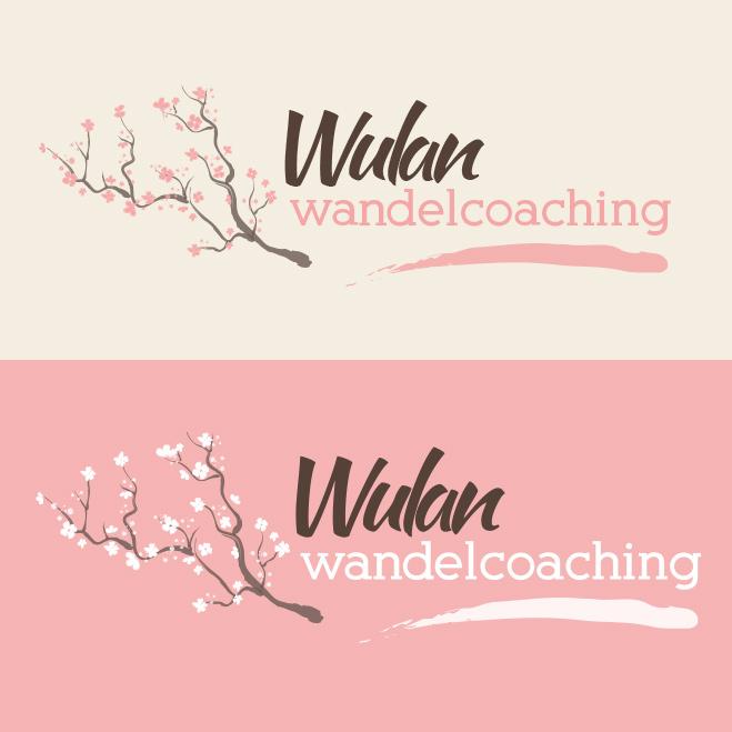 logo gemaakt door Kat Design voor Wulan Wandelcoaching