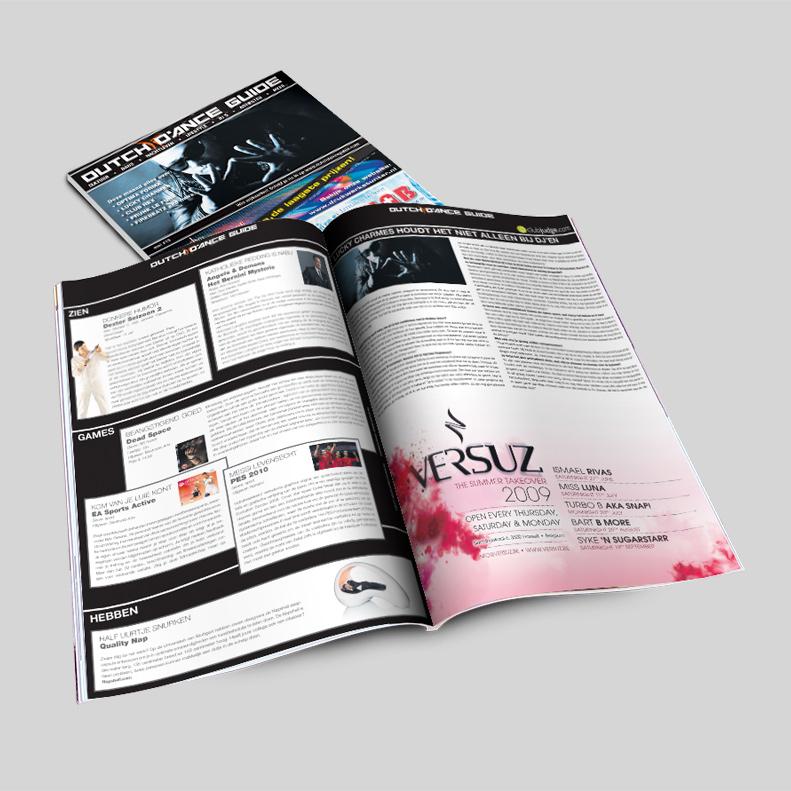 magazine gemaakt voor Dutch Dance Guide