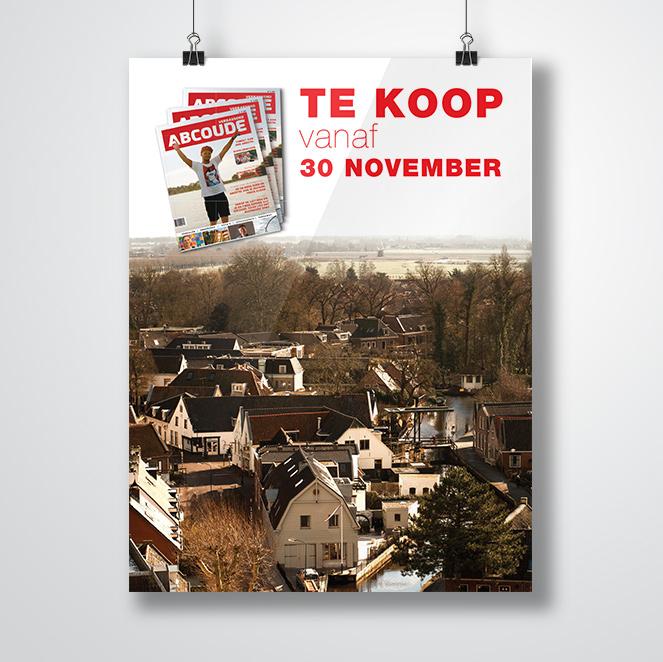 poster door Kat Design voor abcoude magazine