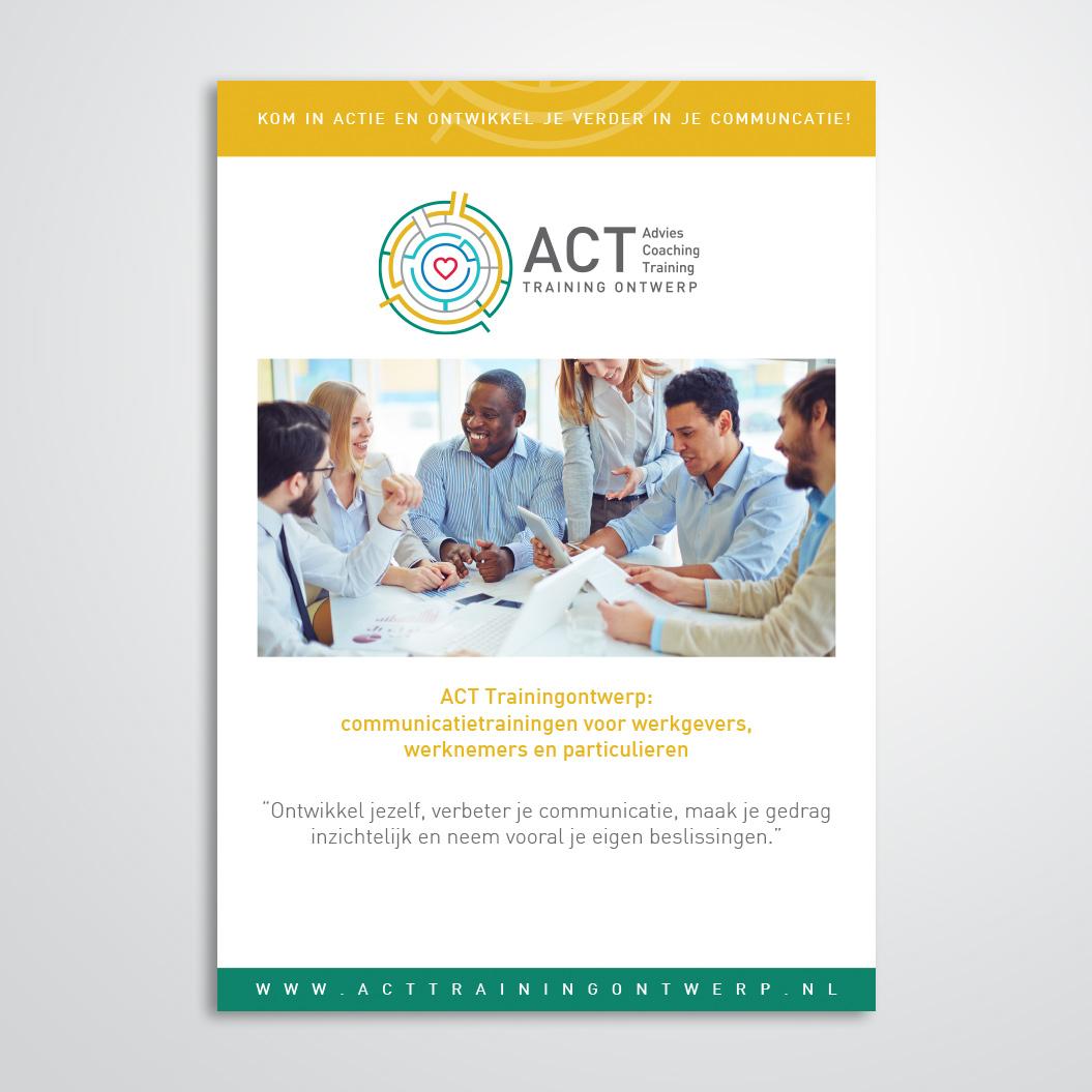 voorblad gemaakt door Kat Design voor ACT Trainingontwerp