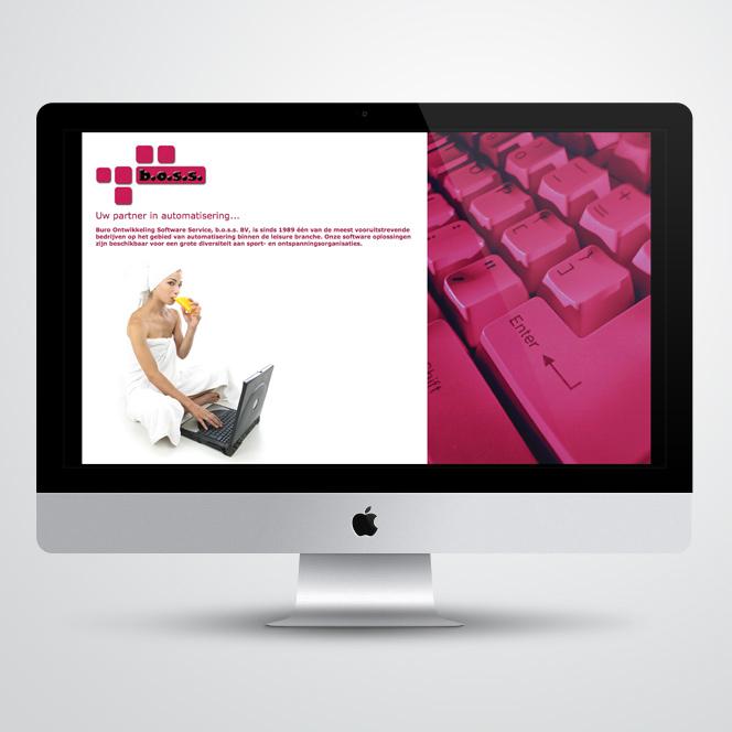 Website gemaakt door Kat Design voor B.O.S.S.