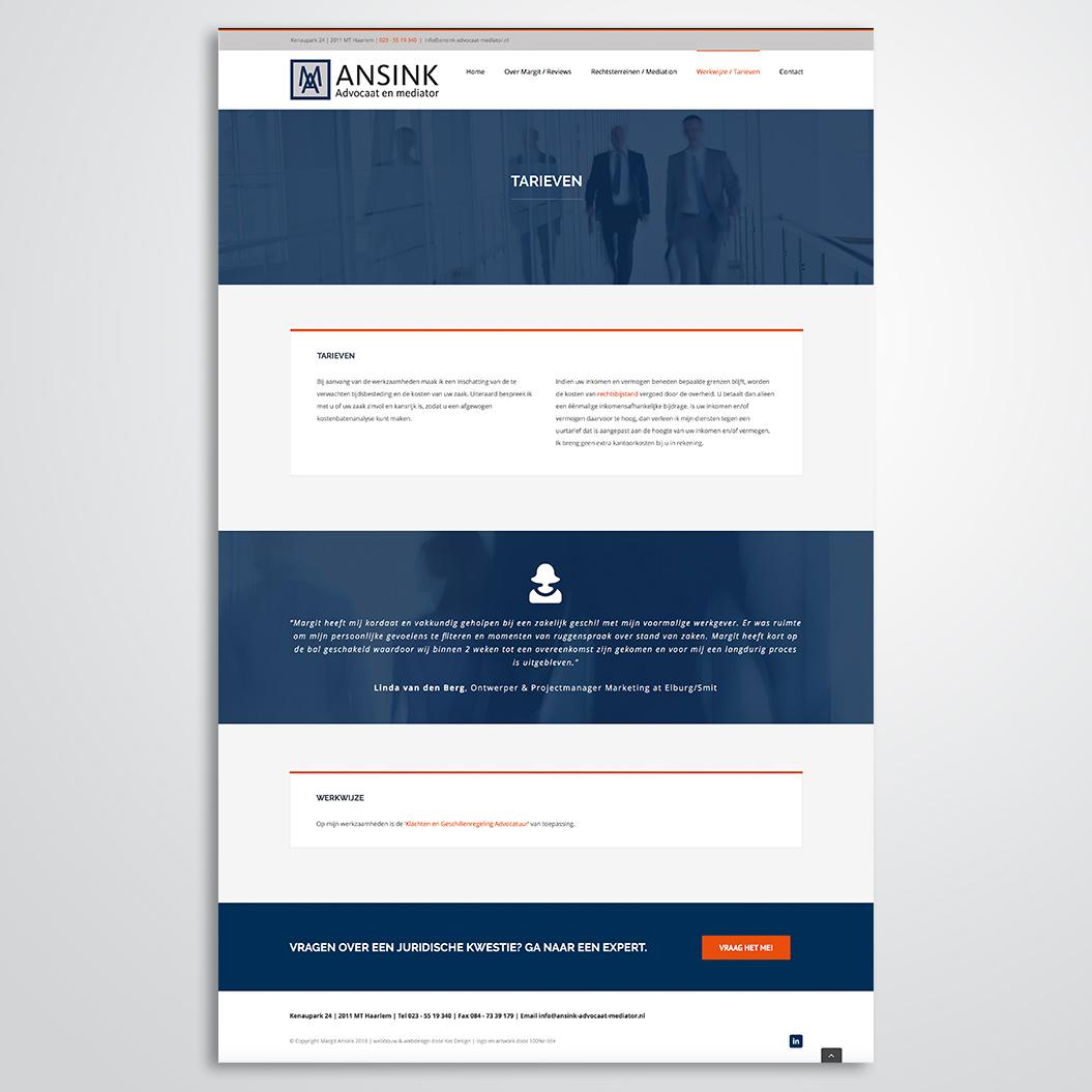 website gemaakt door Kat Design voor Margit Ansink