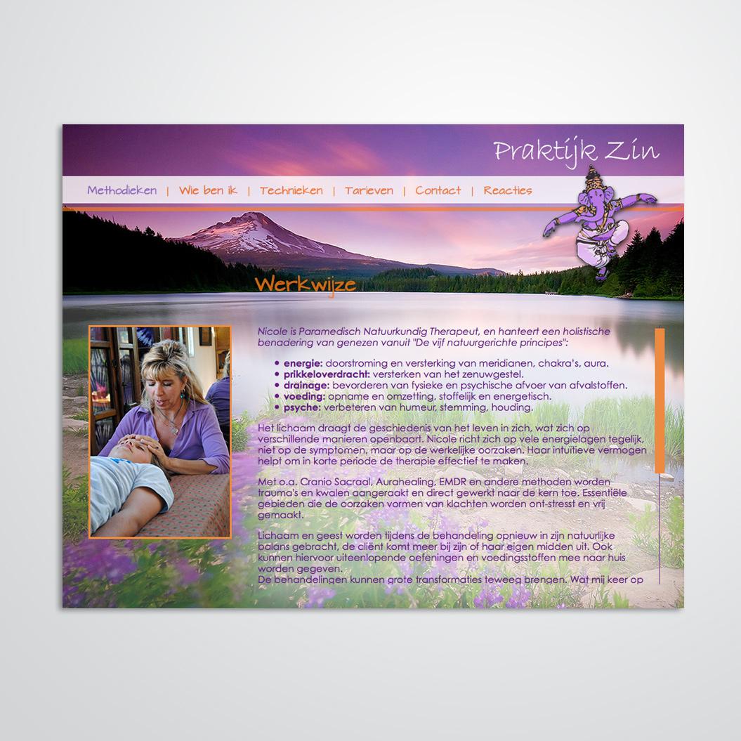 Website voor therapeut Nicole Goezinnen