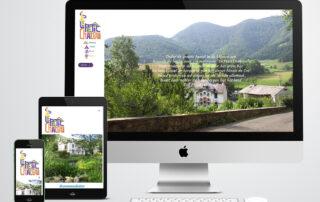 website gemaakt door Kat Design voor Le Petit Chateau