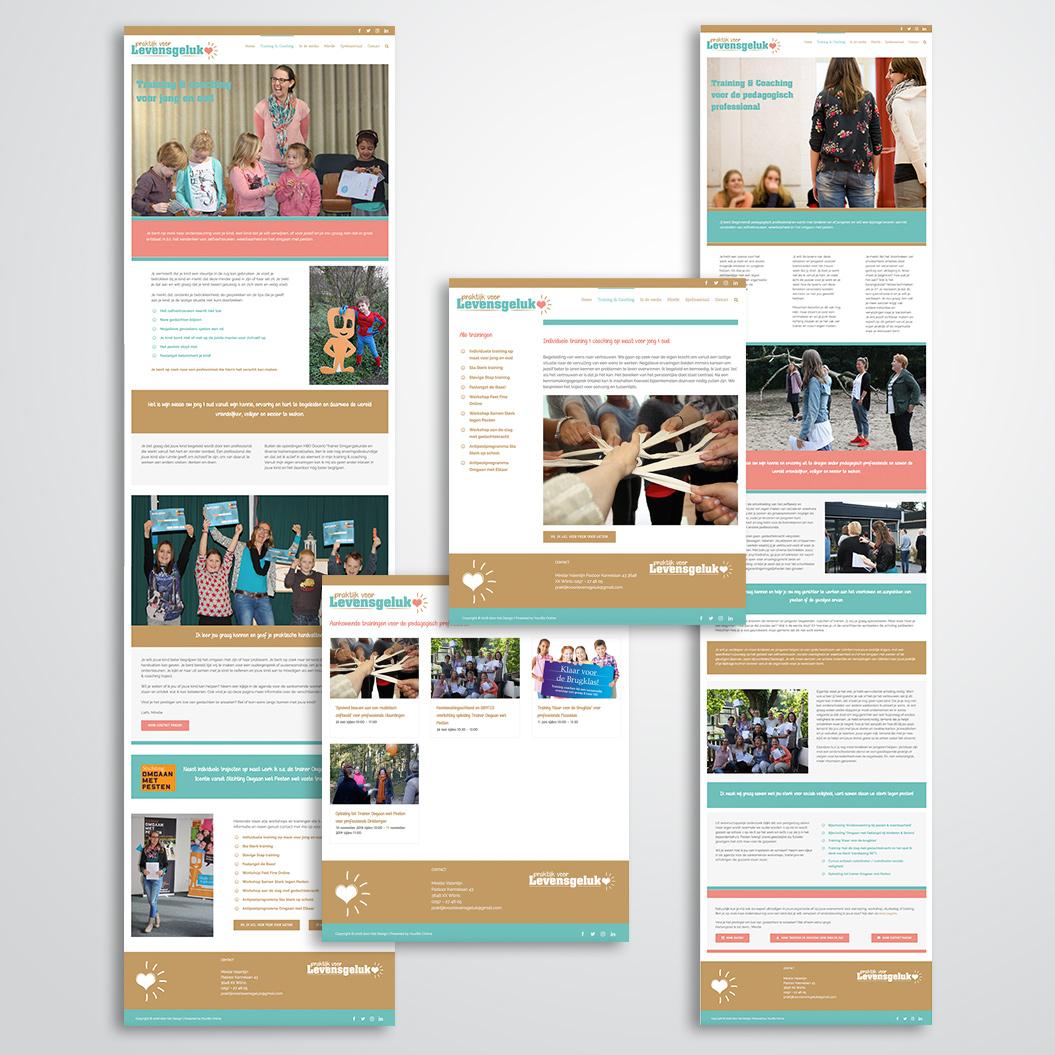 website gemaakt door Kat Design voor Praktijk voor levensgeluk