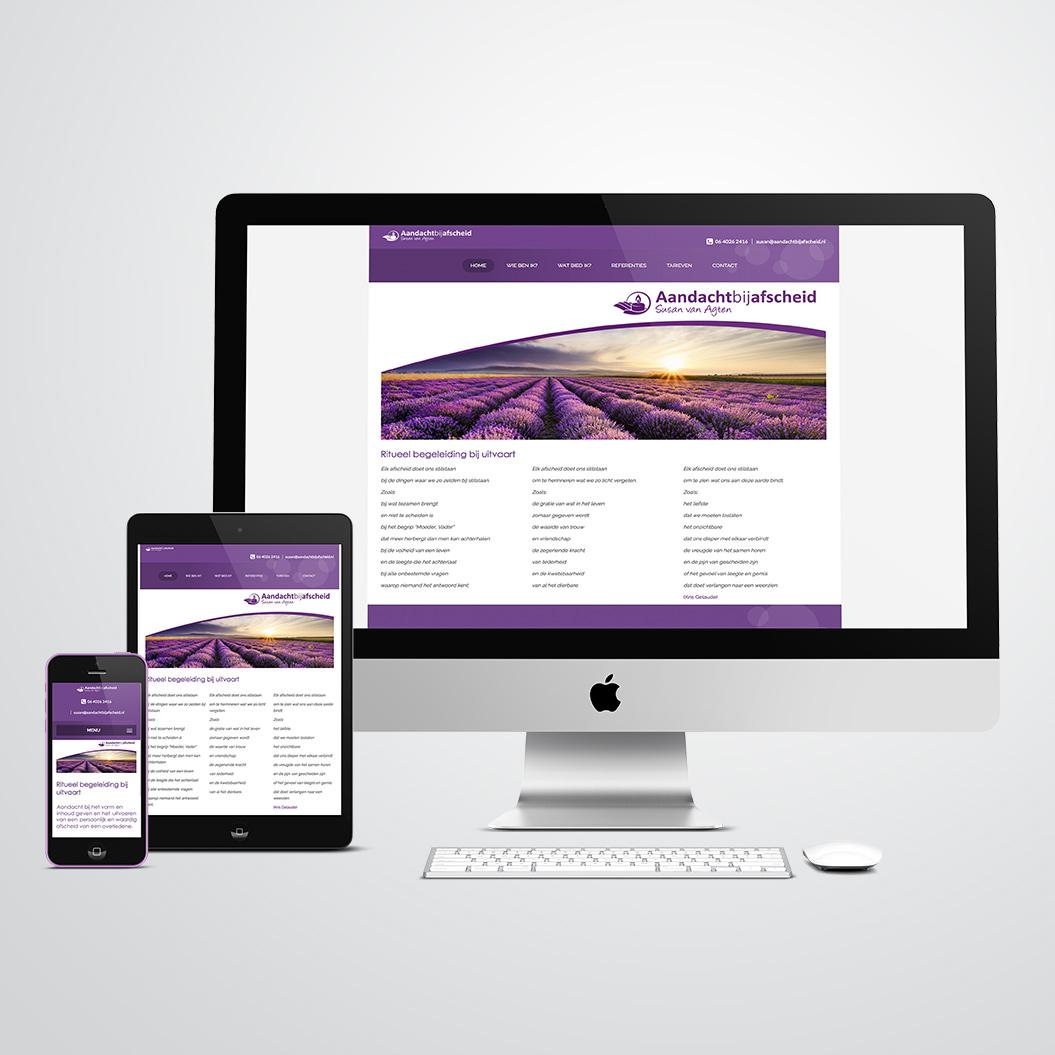 Website gemaakt door Kat Design voor Susan van Agten