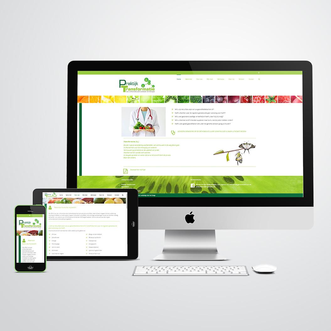 website gemaakt door Kat Design voor praktijk transformatie