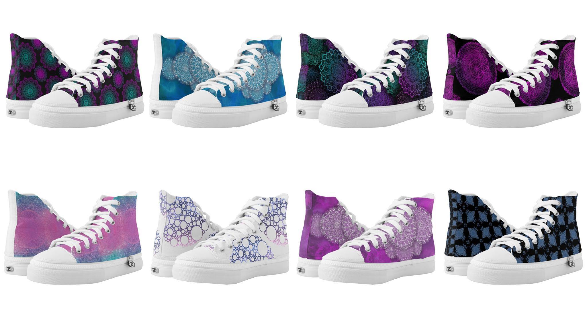 collectie sneakers van KreaKat op Zazzle