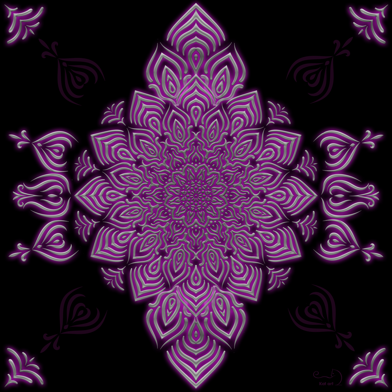 mandala design gemaakt door Kat-Art