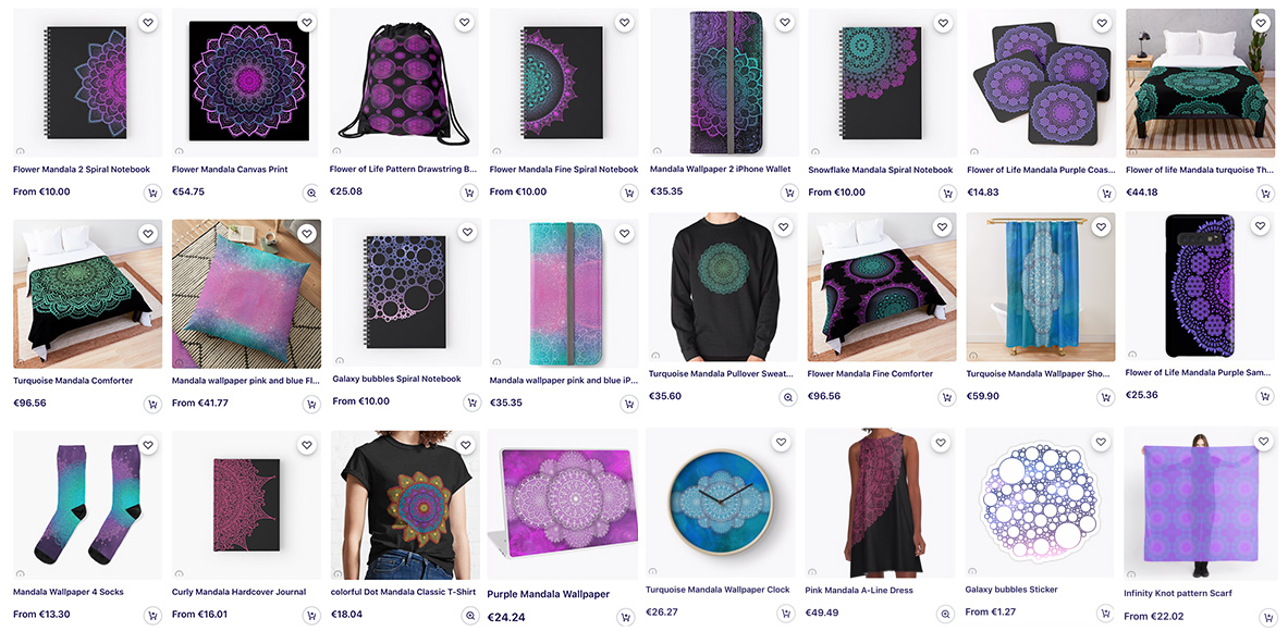 products from Kat-art on Redbubble