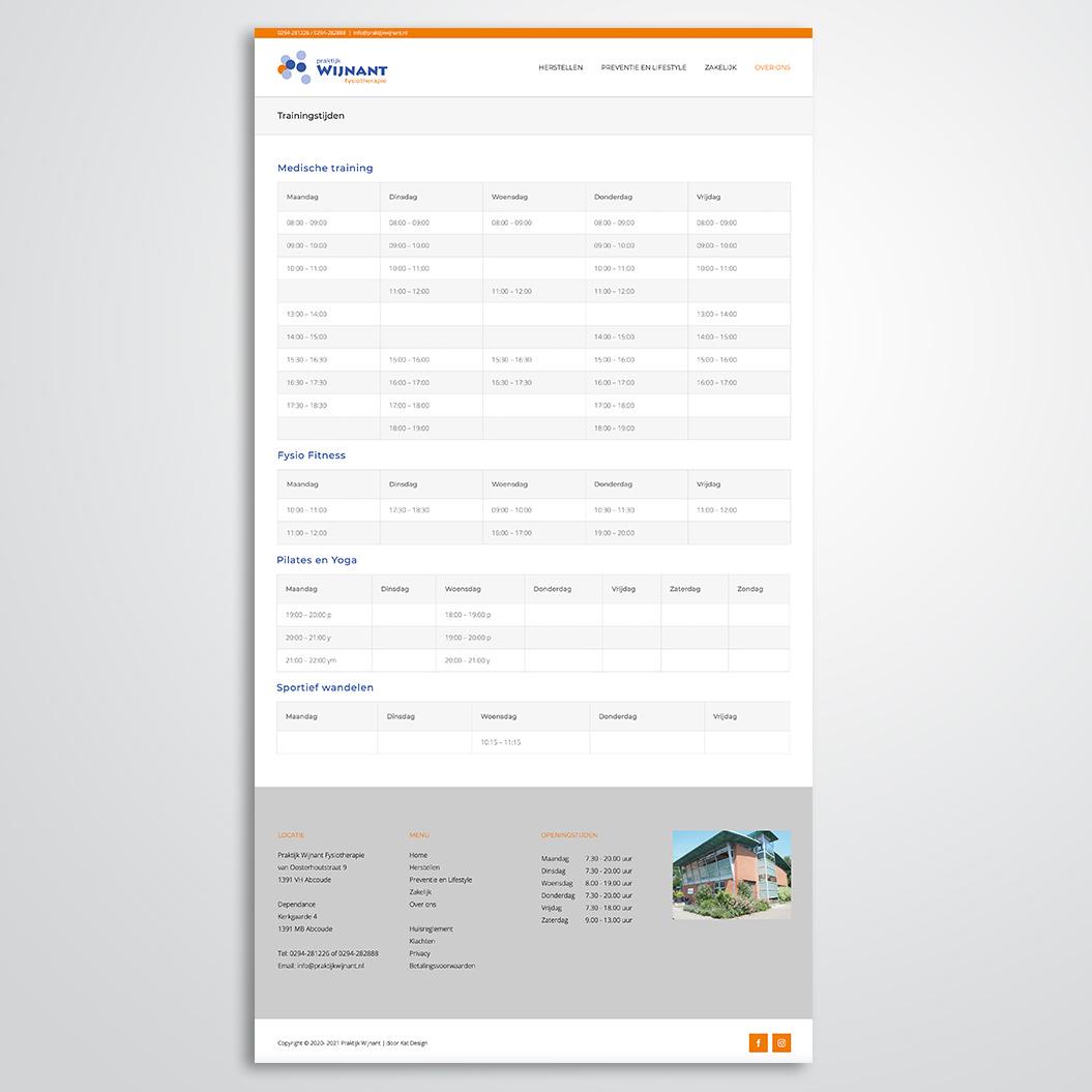 Website gemaakt door Kat Design voor Praktijk Wijnant